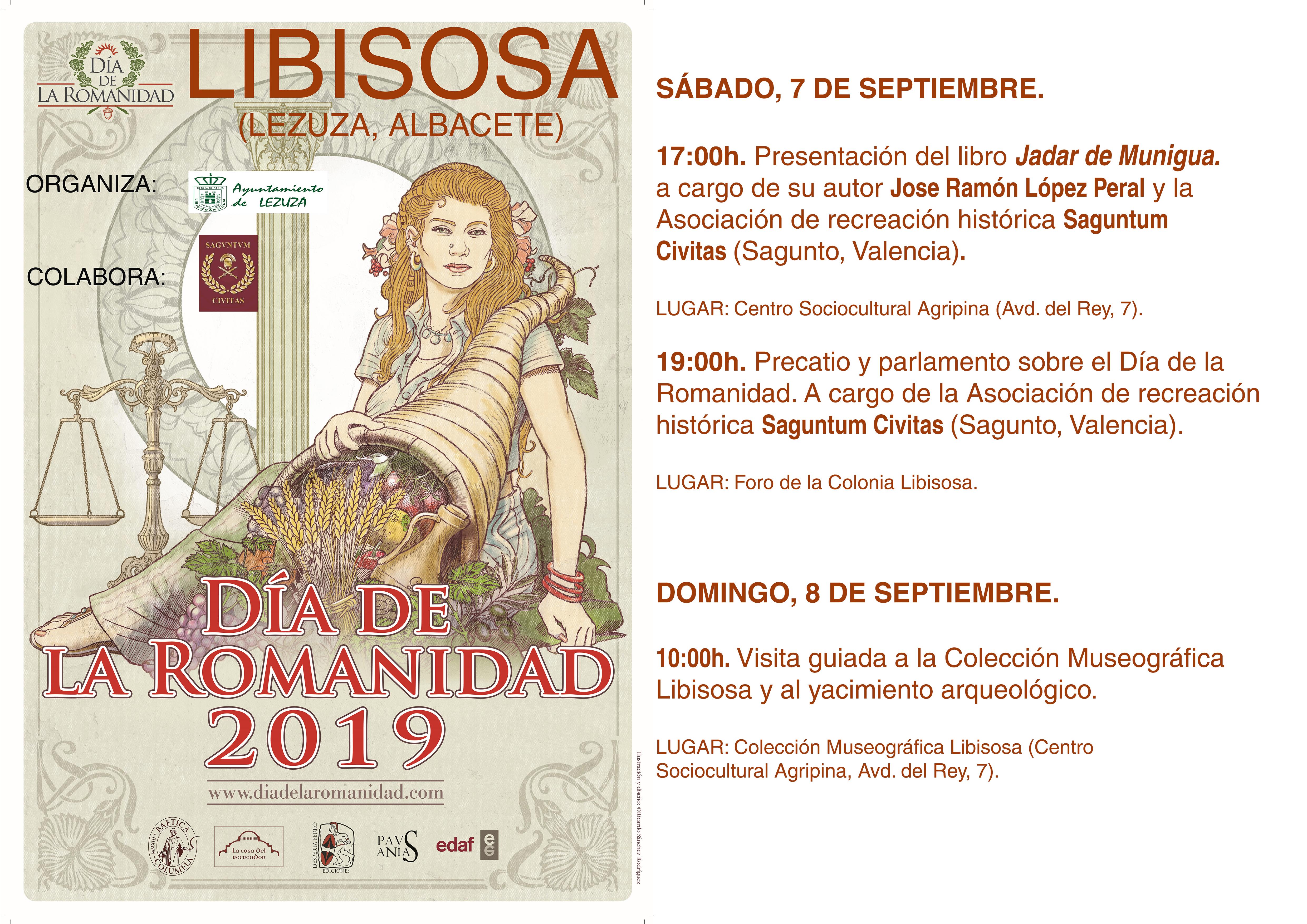 El yacimiento de Libisosa de la mano del Ayuntamiento de Lezuza y de Saguntum Civitas, se unen a Día de la Romanidad